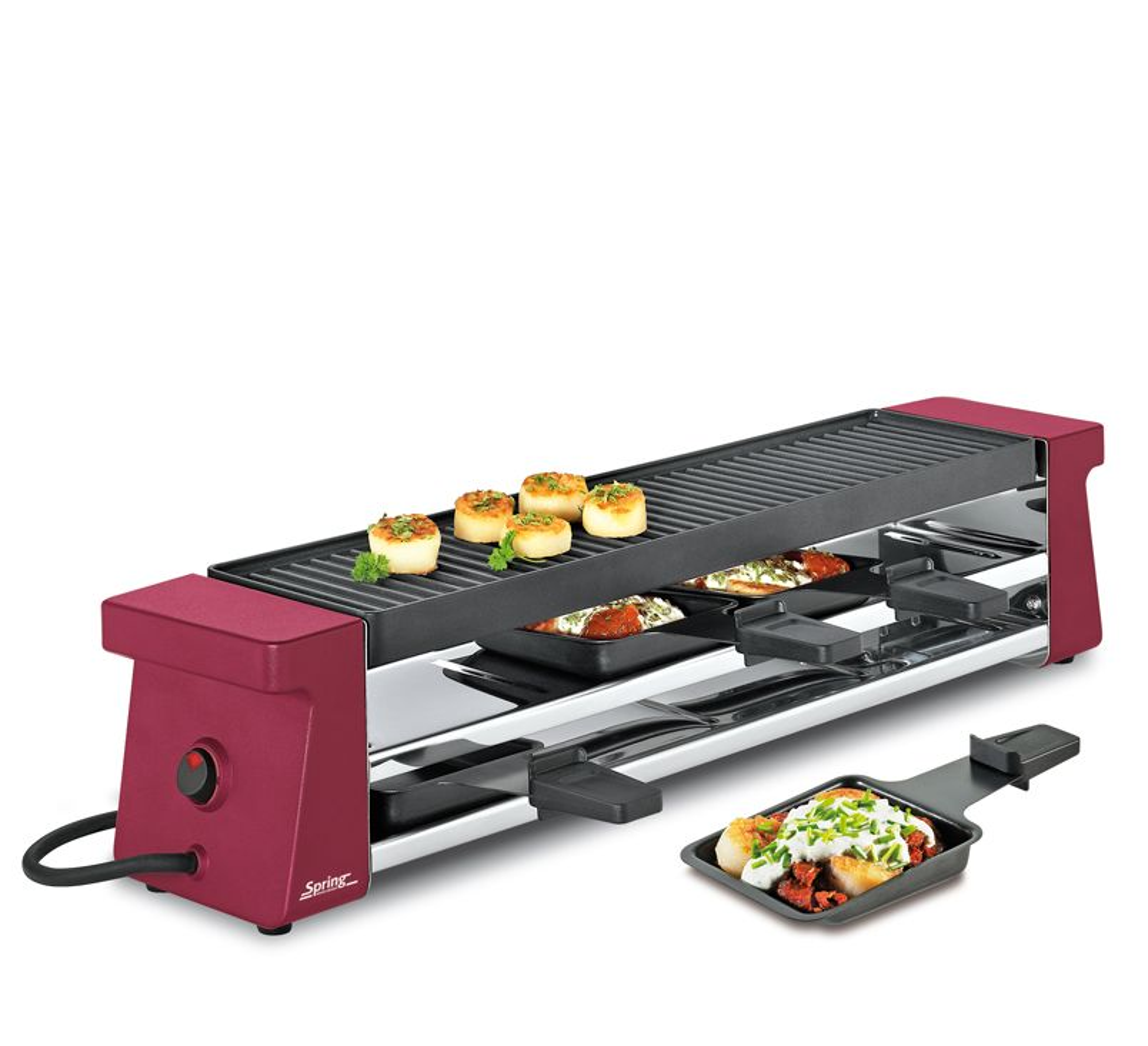 raclette 4 compact raclettes haushalt spring die k che liebt spring. Black Bedroom Furniture Sets. Home Design Ideas