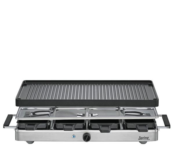 Raclette8 CLASSIC Alu-Grillplatte