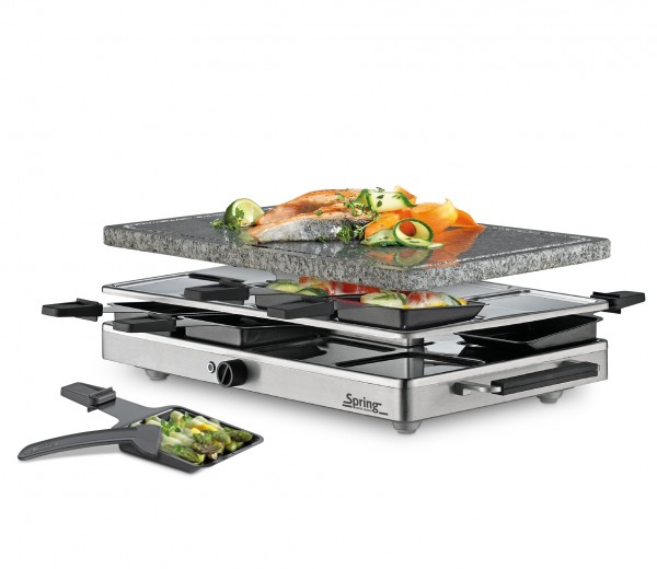 Raclette8 CLASSIC Granitstein