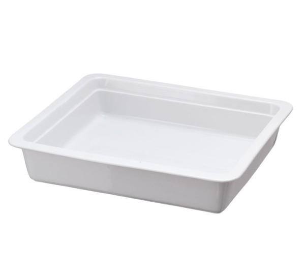 Porzellaneinsatz weiß 2/3 5,0 ltr